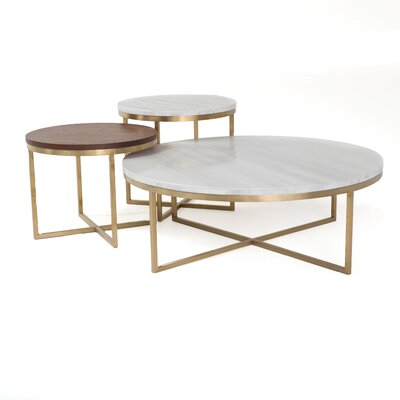 Frederick 3 Piece Coffee Table Set