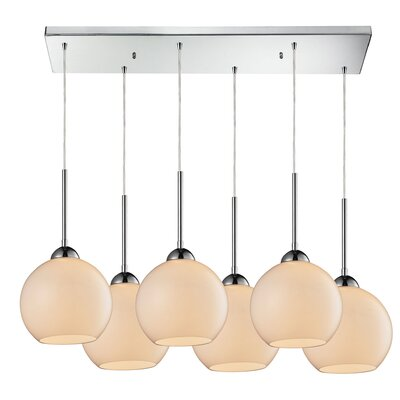 Lucia 6-Light Kitchen Island Pendant