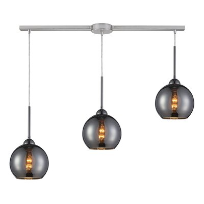 Lucia 3-Light Kitchen Island Pendant