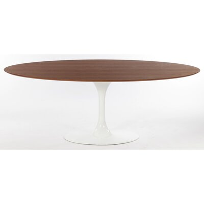Angelica Dining Table Top Finish: Walnut Veneer