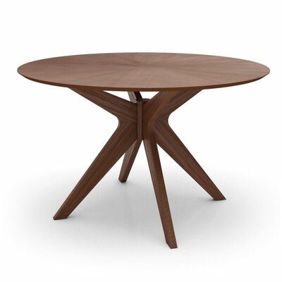 Amherst Round Dining Table Finish: Walnut