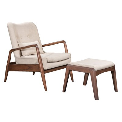 Marlowe Lounge Chair and Ottoman