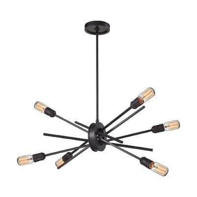 Byler 6-Light Sputnik Chandelier