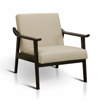 Renfrew Armchair Color: Beige