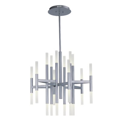 Ballylinny 24-Light Sputnik Chandelier Finish: Bronze
