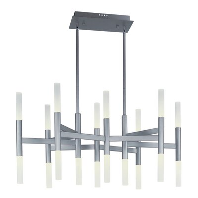 Ballylinny 18-Light Sputnik Chandelier Finish: Metallic Silver