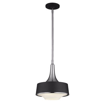 Mesa 1-Light Pendant Finish: Textured White