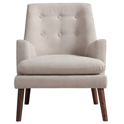 Dashiell Fabric Arm Chair Upholstery: Beige