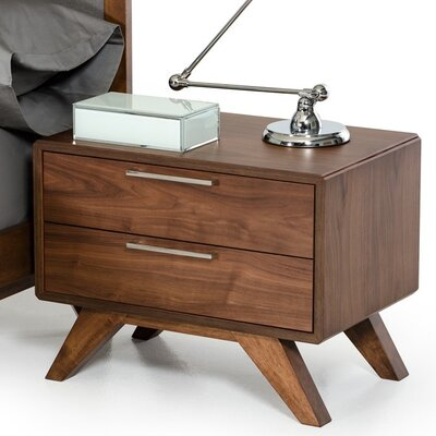 Hali 2 Drawer Nightstand