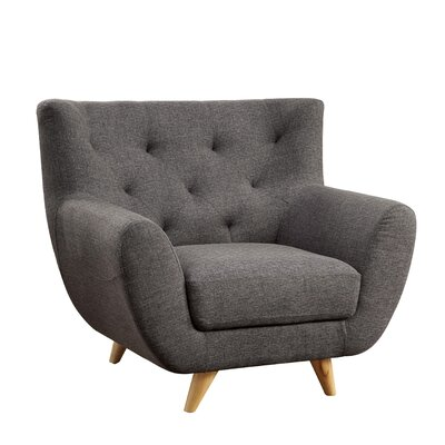 Cleveland Armchair Color: Light Gray