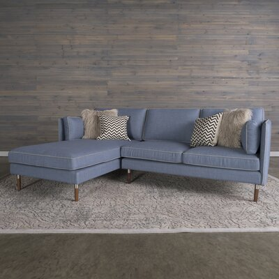 Shelburne Modular Sectional Upholstery: Denim Blue