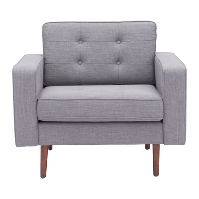 Wichita Armchair Color: Gray