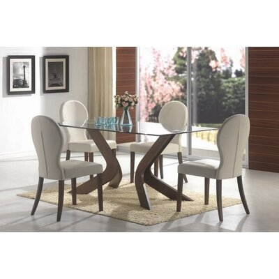 Lansford 5 Piece Dining Set