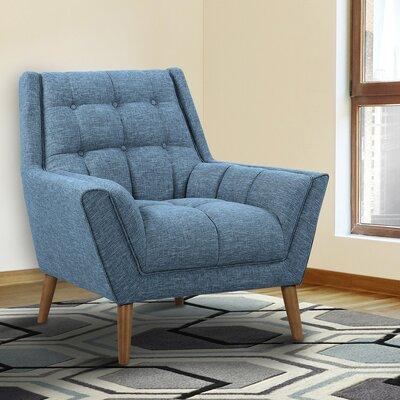 Demesne Armchair Upholstery: Blue