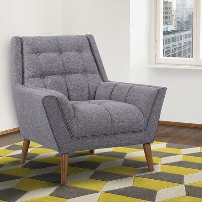 Demesne Armchair Upholstery: Dark Gray