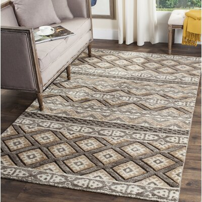 Anson Hand-Knotted Beige Area Rug