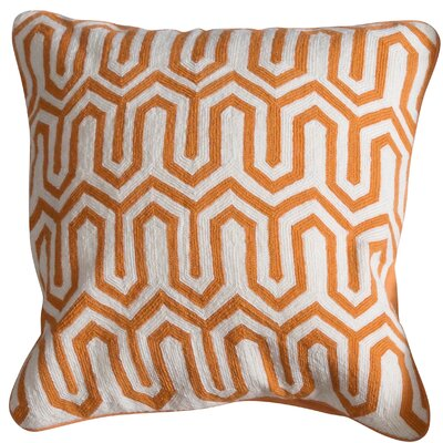 Bingham Cotton Throw Pillow