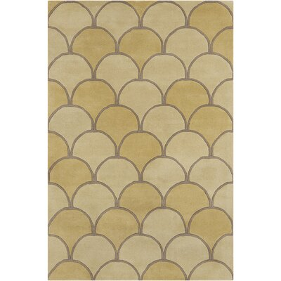 Willa Hand Tufted Wool Gold/Yellow Area Rug
