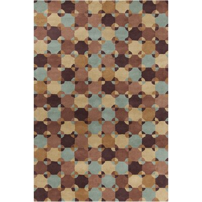 Willa Hand Tufted Wool Area Rug Rug Size: 5 x 76