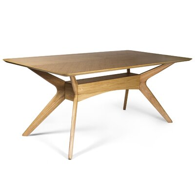 Selena Dining Table Finish: Oak