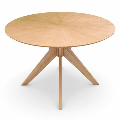 Amherst Round Dining Table Finish: Oak
