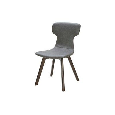Petrolia Side Chair Upholstery: Dark Grey