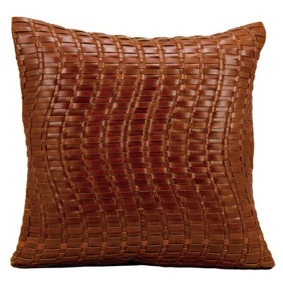 Riverside Leather Pillow