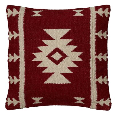 Isabeau Pillow Cover Color: Red