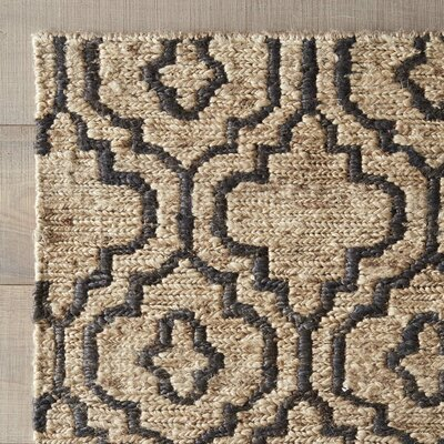 Federica Hand-Woven Natural Area Rug Size: 8 x 10