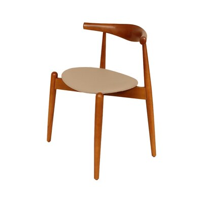 Barmeen Side Chair Upholstery: Beige