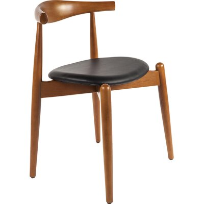 Barmeen Side Chair Color: Black