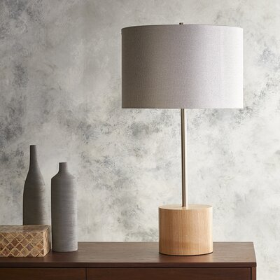 Fayetteville 28.54 Table Lamp with Drum Shade