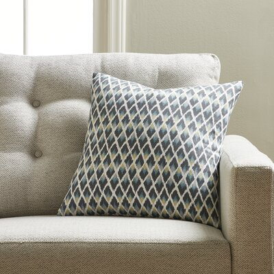 Jeffery Throw Pillow Color: Rain