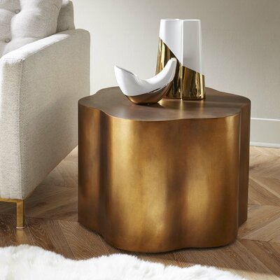 Loretto Copper End Table