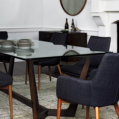 Altaire Lake Arm Chair Upholstery: Charcoal