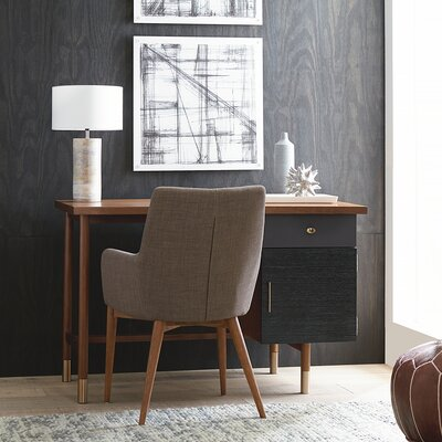Altaire Lake Arm Chair Upholstery: Dark Gray