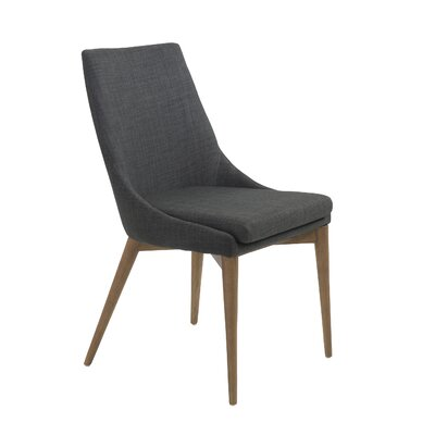 Alterson Side Chair Upholstery: Charcoal