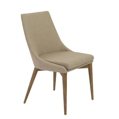 Ambler Side Chair Upholstery: Tan