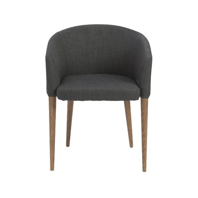 Alverson Barrel Chair Upholstery: Charcoal