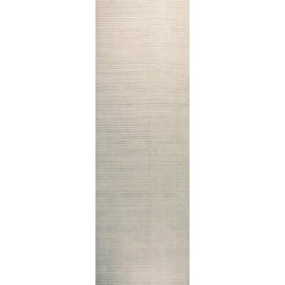 Alston Hand Woven Platinum Area Rug Rug Size: 39 x 59