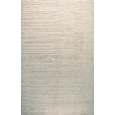Alston Hand Woven Platinum Area Rug Rug Size: 86 x 116