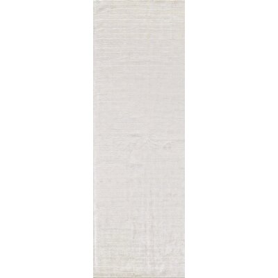 Alston Hand Woven Snow Area Rug Rug Size: Runner 2'6
