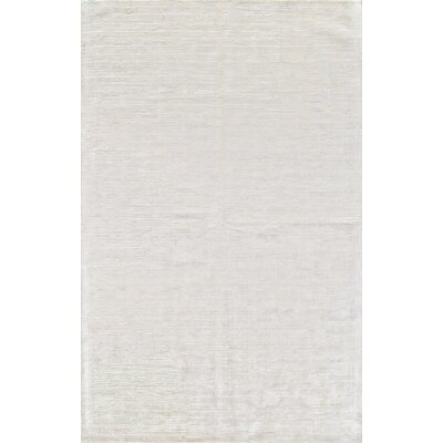 Alston Hand Woven Snow Area Rug Rug Size: 56 x 86