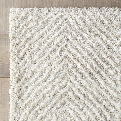 Ontario Rug in Powder Rug Size: 53 x 77