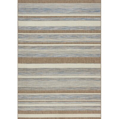 Memphis Indoor/Outdoor Rug in Ocean Rug Size: 710 x 1010