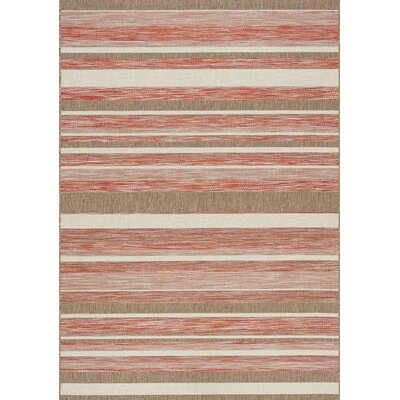 Memphis Indoor/Outdoor Rug in Sunset Rug Size: 53 x 77