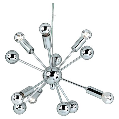 Bacchus 6-Light Sputnik Chandelier