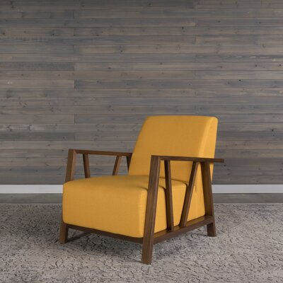 Abrams Armchair Upholstery: Sunset Gold