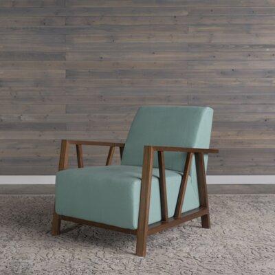 Abrams Armchair Upholstery: Blue Topaz