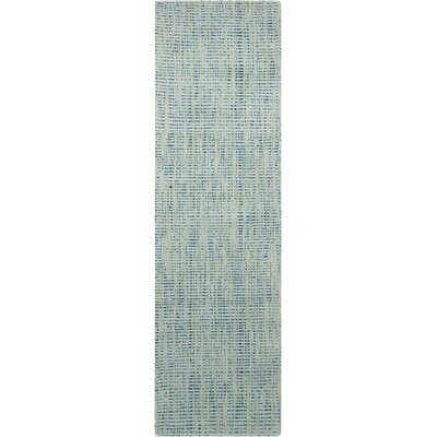 Spartacus Hand-Woven Oceanic Area Rug Rug Size: Runner 23 x 8